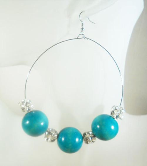 Beaded Earrings-2720