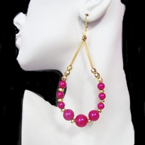 Beaded Earrings-11188