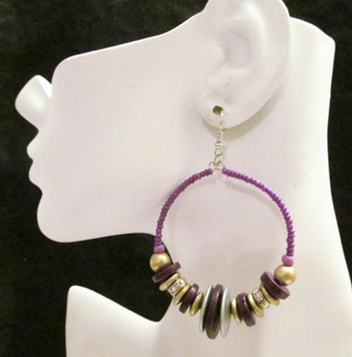 Beaded Earrings-13705