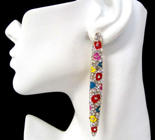 Stud Earrings-11493