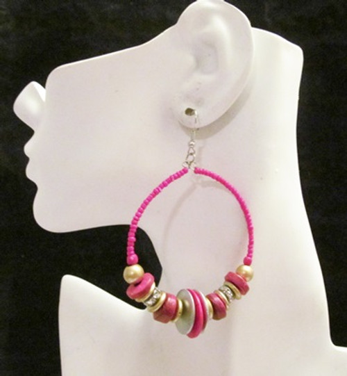 Beaded Earrings-12705