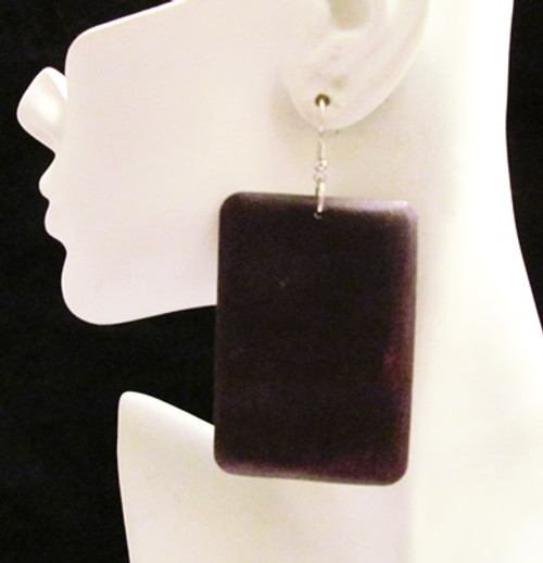 Wood Earrings-15763