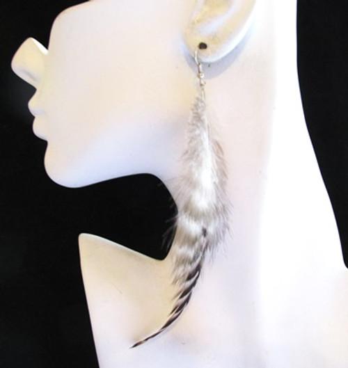Feather Earrings-12852