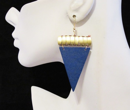 Wood Earrings-12930