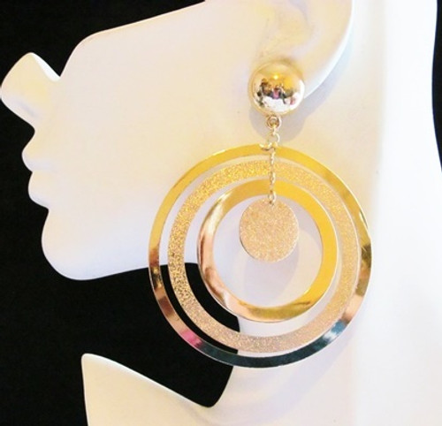 Round Earrings-11908