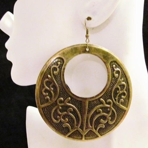 Round Earrings-11751