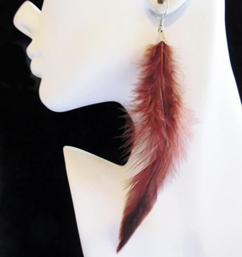 Feather Earrings-11852