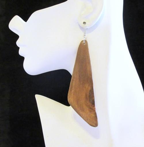 Wood Earrings-12947