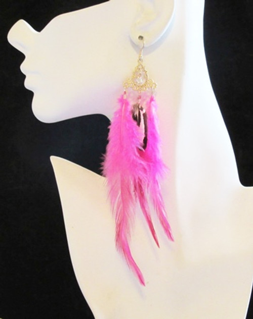 Feather Earrings-14950