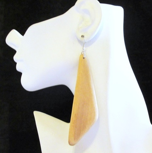 Wood Earrings-11947