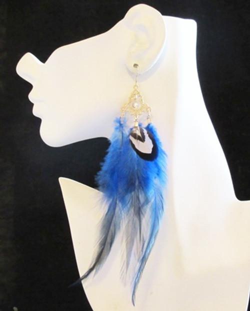 Feather Earrings-11950