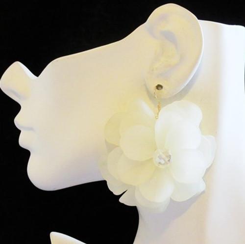 Flower Earrings-12957