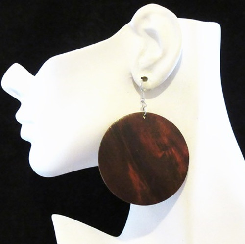 Wood Earrings-12959