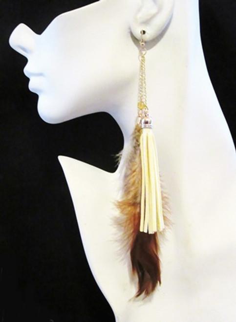 Feather Earrings-15960