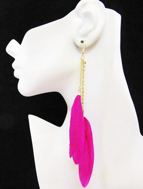 Feather Earrings-16977