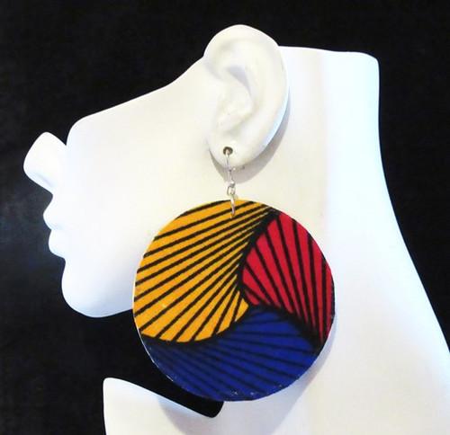 Wood Earrings-12988