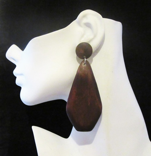 Wood Earrings-12964