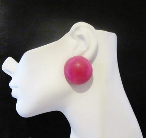Wood Earrings-16965