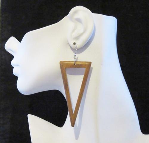 Wood Earrings-11966