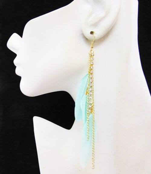 Feather Earrings-11977