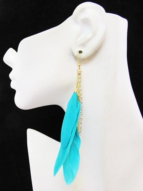 Feather Earrings-12977