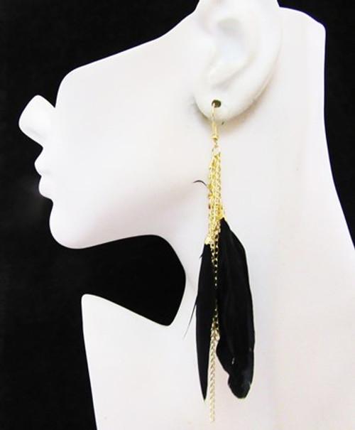 Feather Earrings-15977