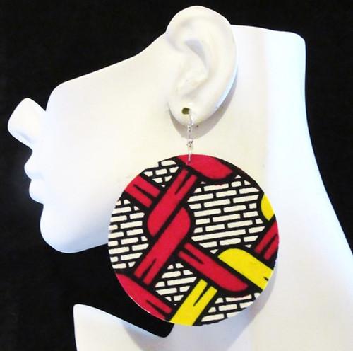 Wood Earrings-11988