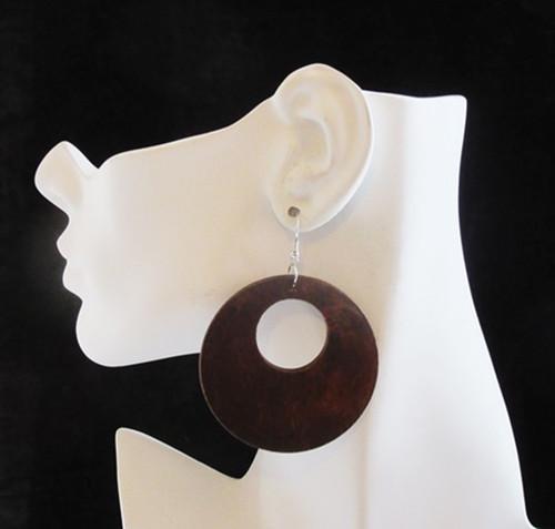 Wood Earrings-12998