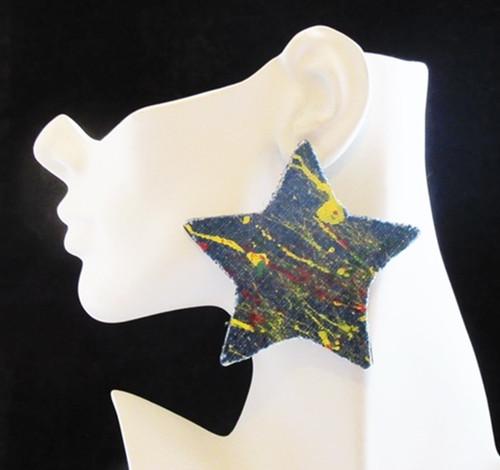 Wood Earrings-22002