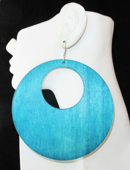 Wood Earrings-22010