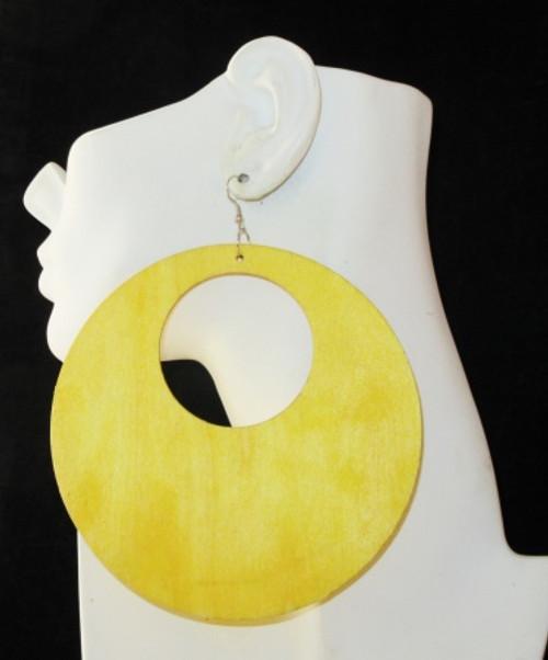 Wood Earrings-28010