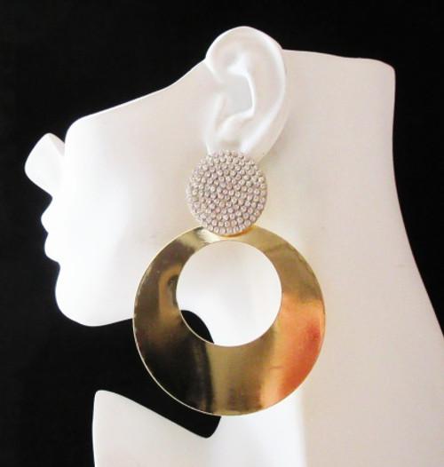 Round Earrings-21011
