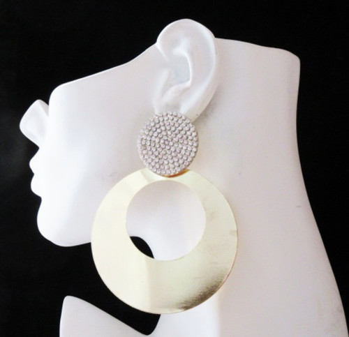 Round Earrings-22011