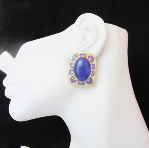 Post Earrings-22017