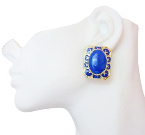 Post Earrings-23017