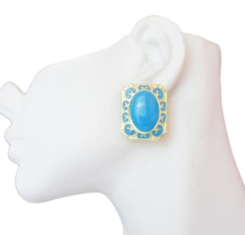 Post Earrings-24017