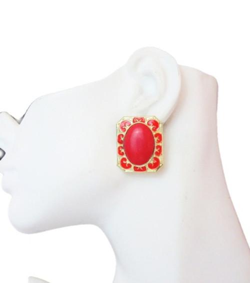 Post Earrings-26017