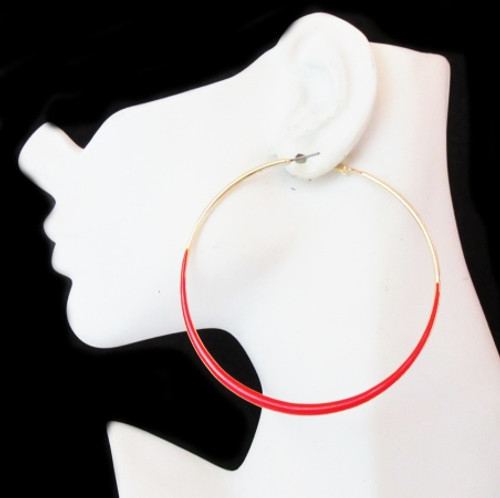 Hoop Earrings-22036