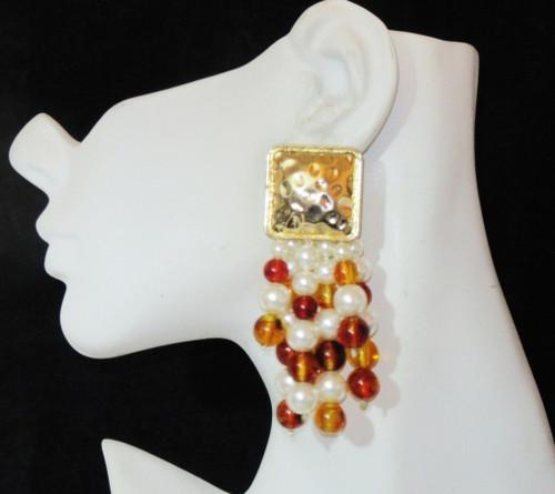 Post Earrings-21028