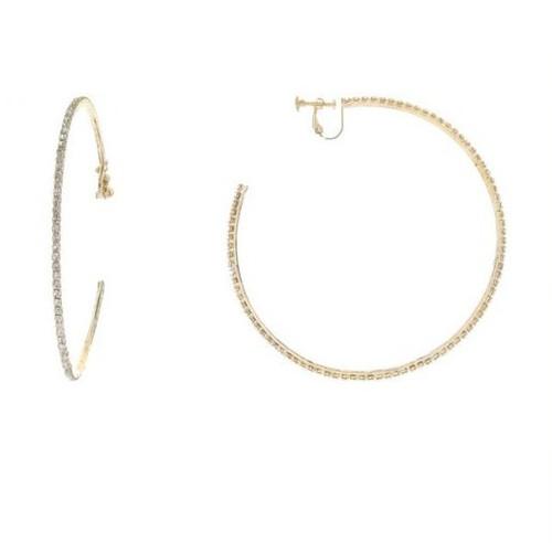 Clip Earrings-21050
