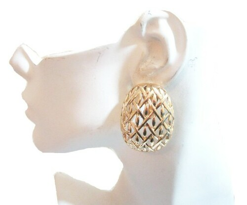 Clip Earrings-21059