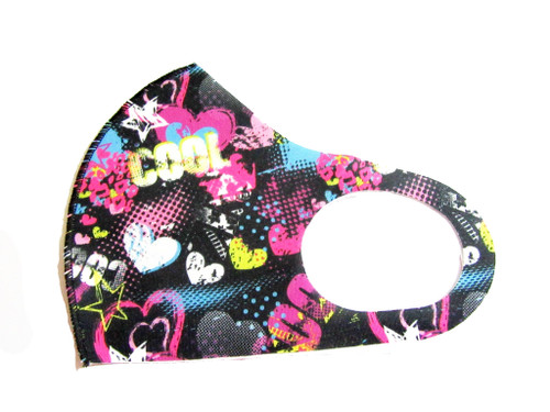 Print Reusable Face Mask Washable Protection Fabric Face Cover, cool