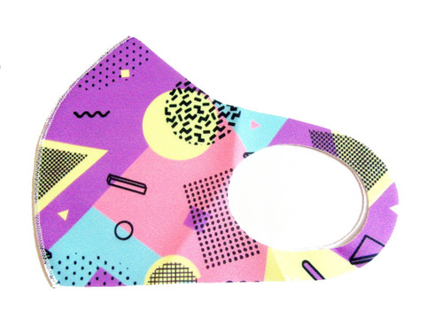 Printed  Reusable Face Mask Washable Protection Fabric Face Cover