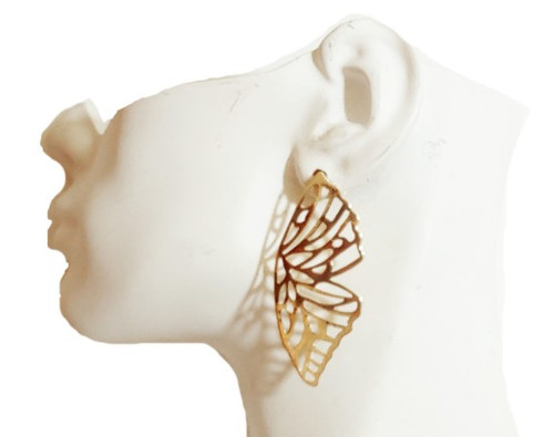 Butterfly Wing Earrings-21069