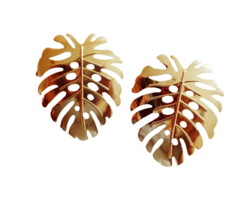 Leaf Fashion Earrings-21070