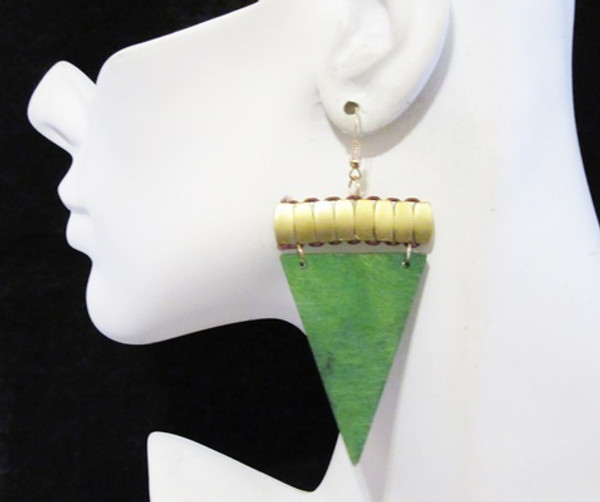 Wood Earrings-13930