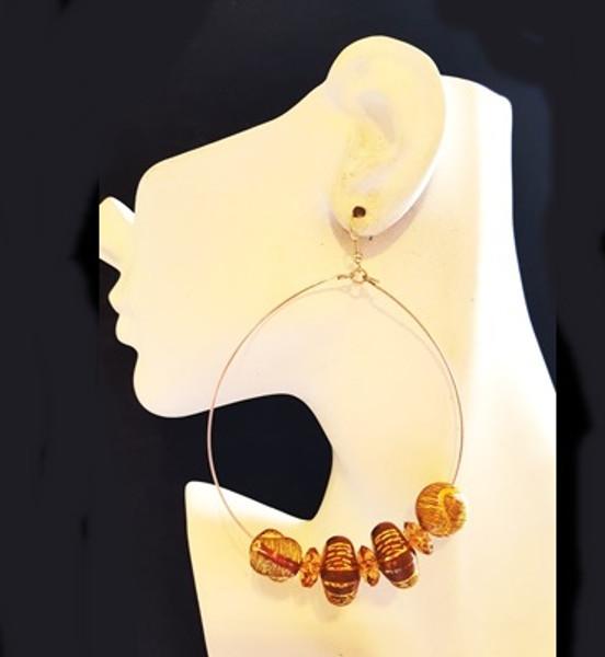 Beaded Earrings-13871