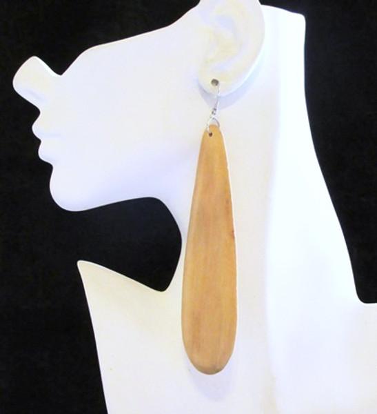 Wood Earrings-11948