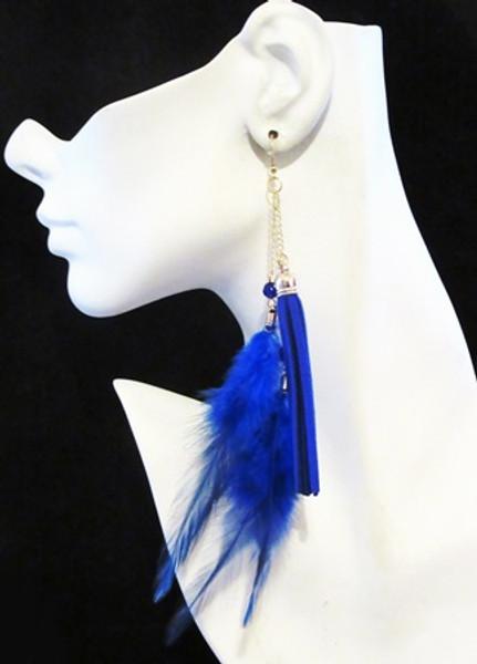 Feather Earrings-11960