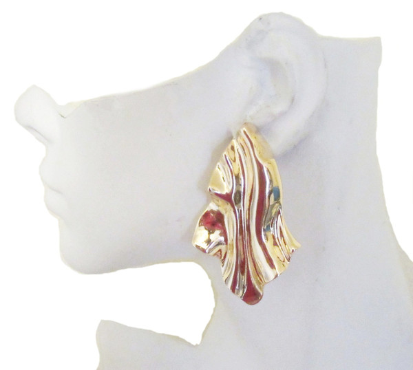 Clip Earrings-21049